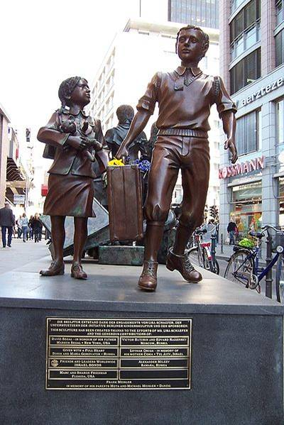 Kindertransport memorial in Berlin